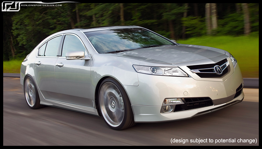 RonJon 4th Gen Acura TL Body Kit Thread! **pg. 16 updated pics* - Page 2 - AcuraZine - Acura ...